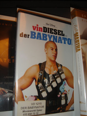 Some movie titles translate funny, Vin Diesel's