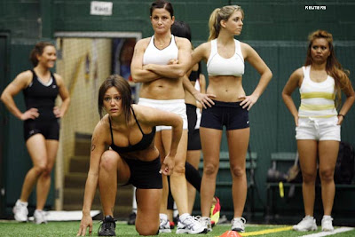 J-Woww Apparently Tried Out For the New York Majesty Lingerie Football Team