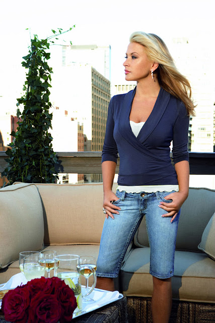 Anastacia - Photoshoot for s.Oliver Ad 2008