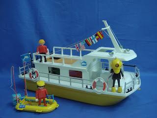 Kekoleccion barco de recreo playmobil for Barco pirata playmobil