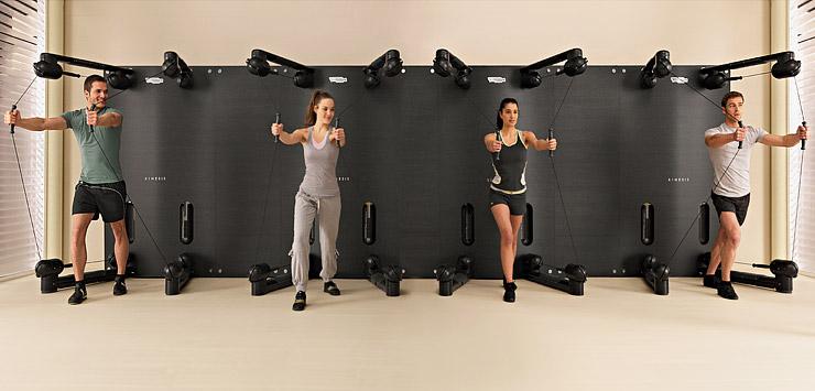 kinesis machine workout