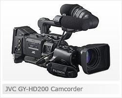 JVC GY HD200 Camcorder