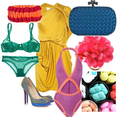 Summer Fashion Trends 2011 on Latest Fashion  Fashion Trend Spring Summer 2011   Color Vitamin