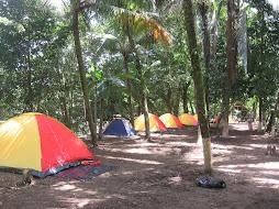 Tent row