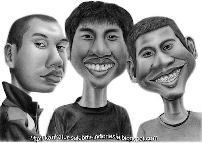 RAN - Karikatur Selebriti Indonesia