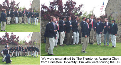 Sulgrave Manor the tigertones