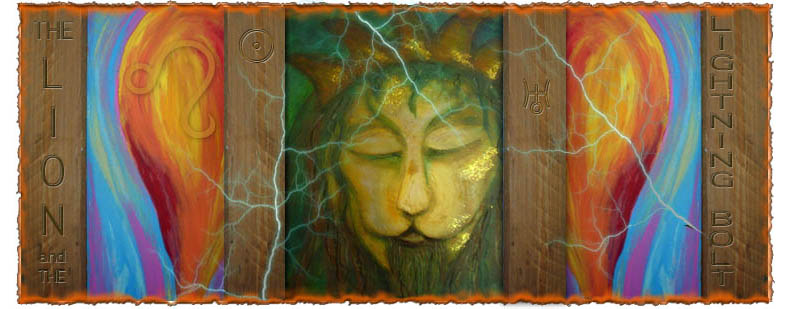 The Lion and the Lightning Bolt - astrological musings