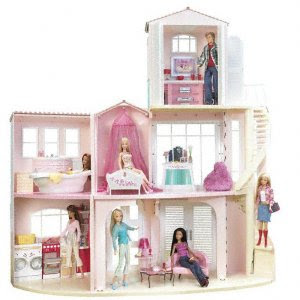 barbie princess house