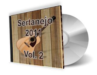 CD Sertanejo 2011 - Volume 2 Sertanejo Diario As Melhores