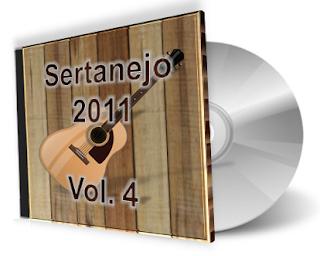 CD Sertanejo 2011 Volume 4 (Lançamentos Top)
