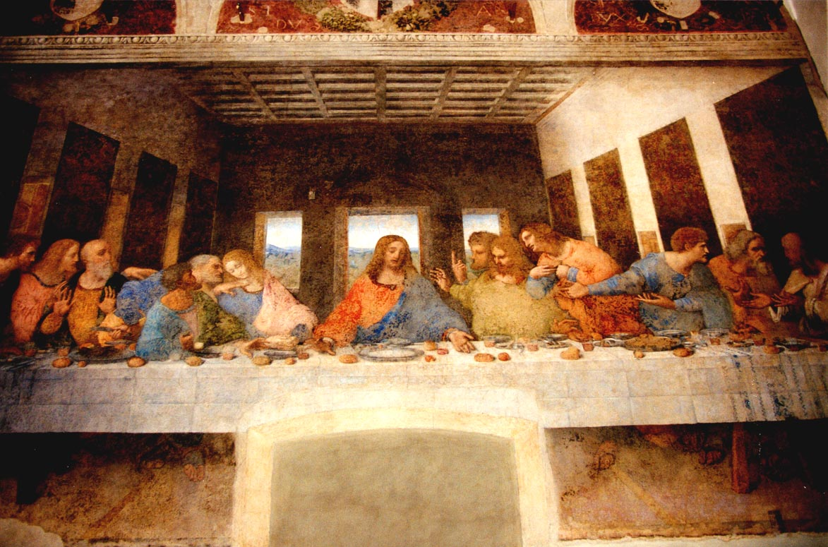 Glorious Gal: Salt at The Last Supper Da Vinci Last Supper Original
