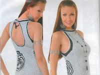 süper bir örgü elbise