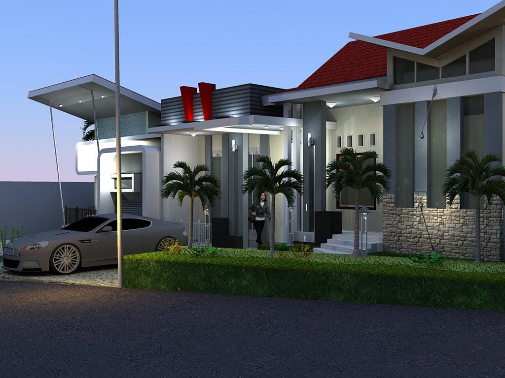 Design Rumah Tinggal Minimalis