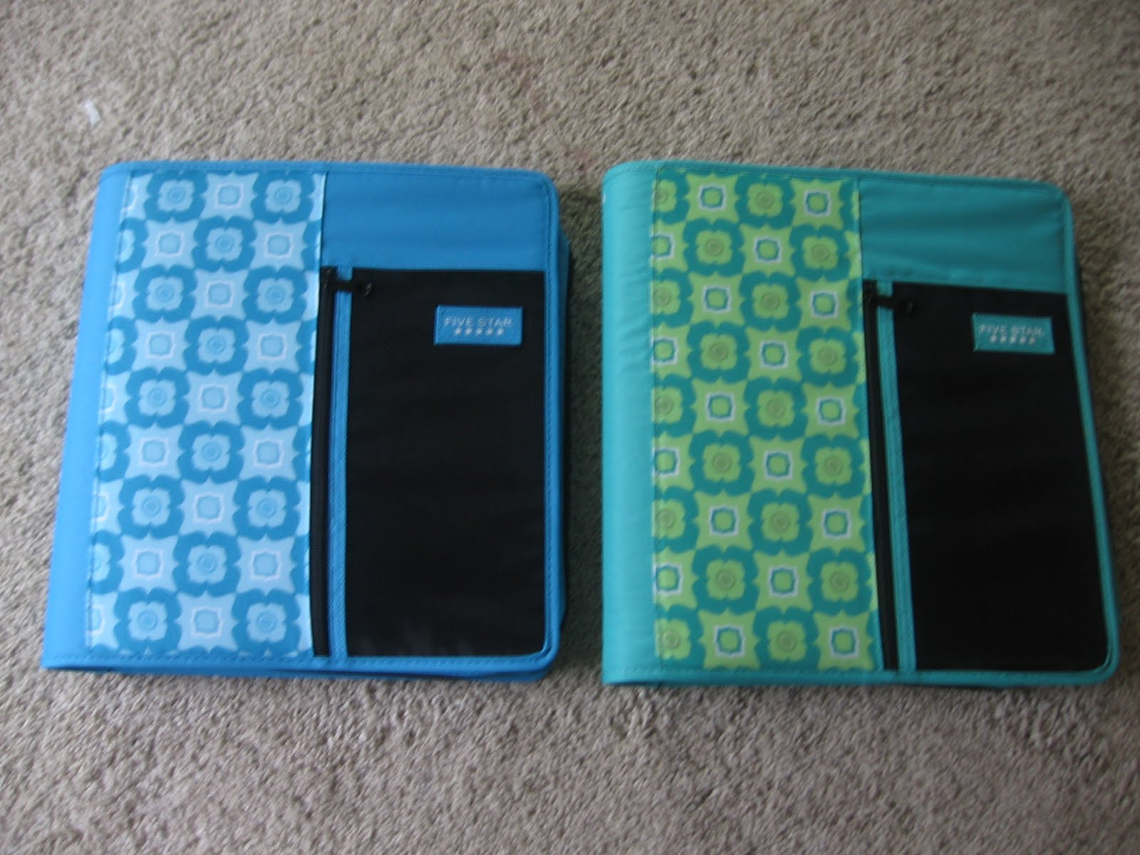 Zippered coupon binders for sale