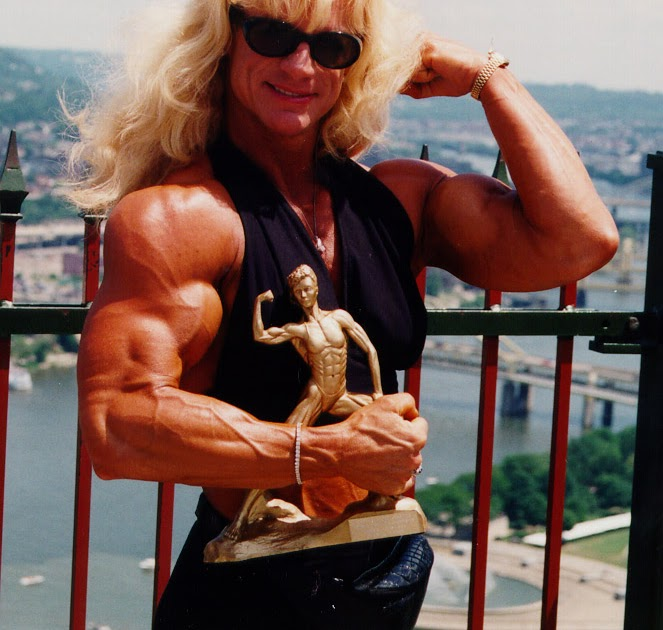 Female Muscle Paradise: Harder than the trophy.