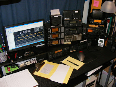 ... 2) facilitate dual monitoring/use of the 2 Meters and HF amateur bands, ...