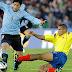 Uruguay Gano a Colombia y es firme candidato  para clasificar al mundial