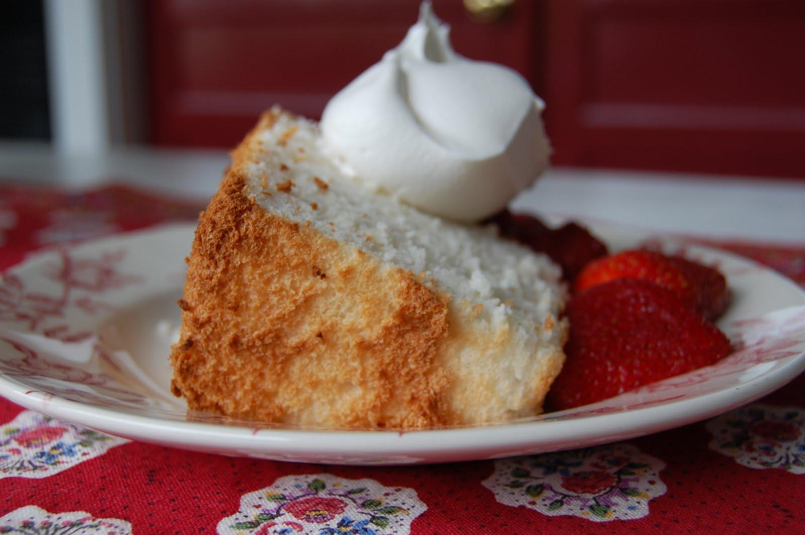 Love and Life at Leadora: Angel Food Cake