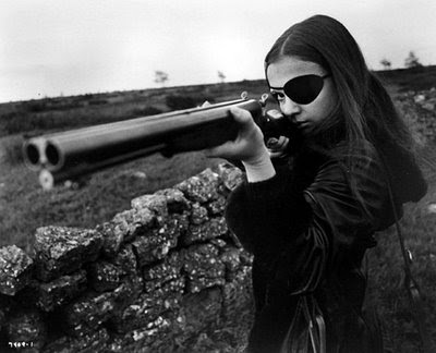 black,and,white,eye,patch,gun,photography,shotgun,woman