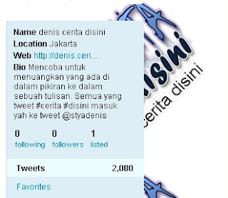 Jumlah Following & Followers Twitter Hilang