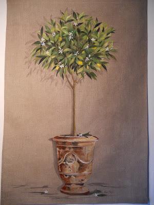 Lin toiles de lin l 39 atelier de kerguelion - Arrosage laurier rose en pot ...