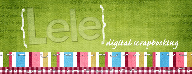Lele Sordili - Digital Scrapbooking