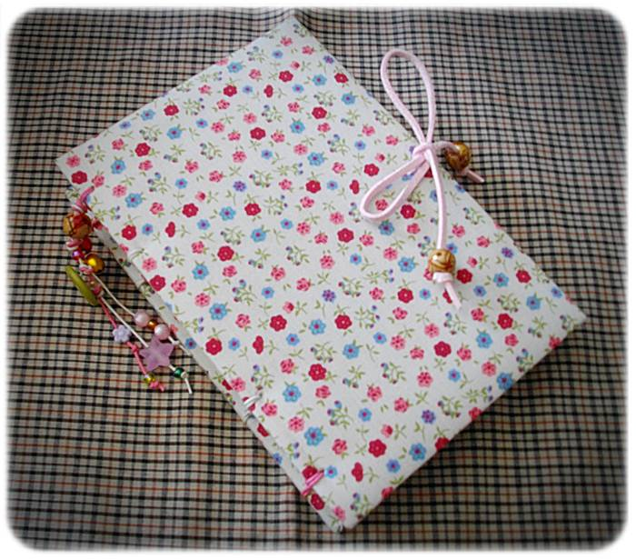 Handmade book cloth plain