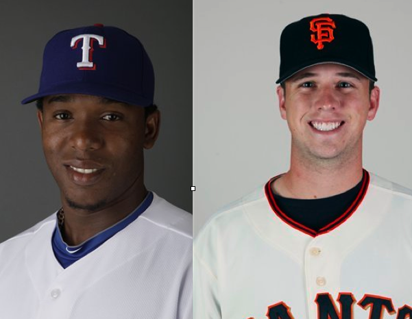 buster posey sister. Neftali Feliz and Buster Posey