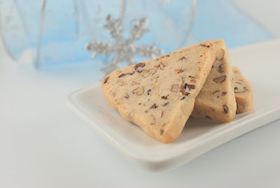 VARIATION:  COCOA NIB PECAN TRIANGLES
