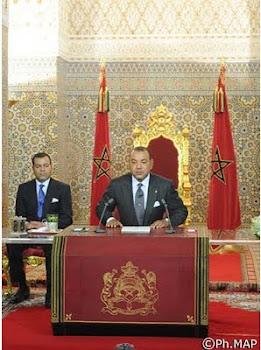 صاحب الجلالة الملك محمد السادس ، نصره الله،