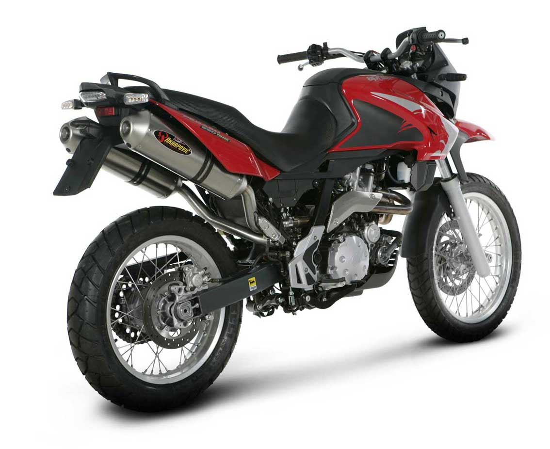 Moto GP: New Aprilia PEGASO 650 TRAIL