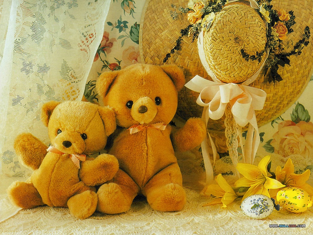 colorful world life: Teddy Bears' Love Story