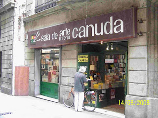 el juego del angel - escenarios: libreria sempere - Libreria Sempere E Hijos Barcelona