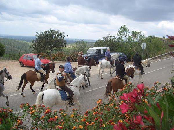 Passeio Equestre em Alte 2008
