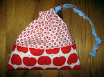 tutorial french seams drawstring-bag