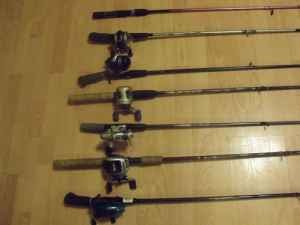 Big bass classifieds fishing rods and reels for sale for Craigslist fishing equipment