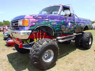 camioneta monster