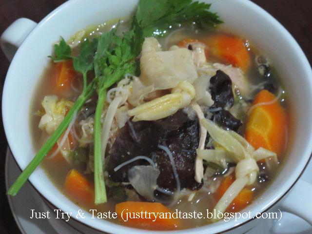 cara masakan hongkong resep sup kimlo