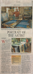 """Hingham Journal"" features Dickerson in article ""Portrait of an Artist"""