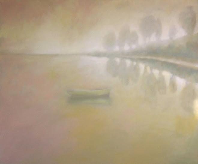 Rowboat in Rising Fog 2
