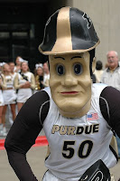 [BLEEP] YOU, MASCOT! Purdue Pete getting a makeover?