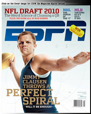 Jimmy Clausen-The non Avatar version.