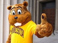 [BLEEP] YOU, MASCOT: Goldie Gopher