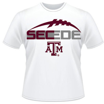 Shirts Without Random Triangles; Yep, there's a Texas A&M  SEC shirt