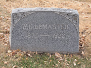 Tombstone Tuesday: William Clifford LeMaster (18711922)