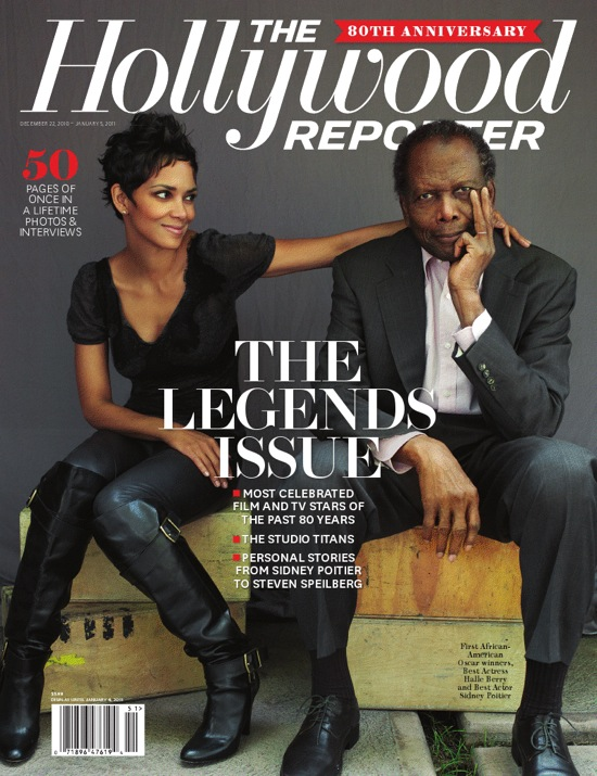 reporters legends issue 80th anniversary sidney poitier posed