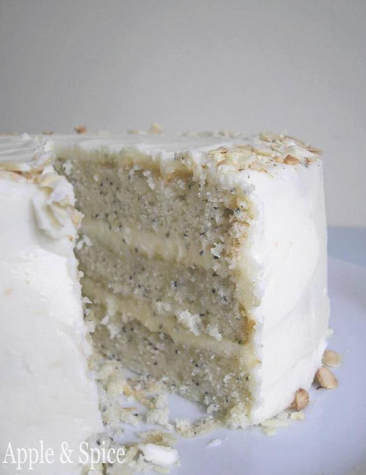 Apple Spice The Cake Slice May 2010 Lemon Poppy Seed Cake with