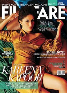 Kareena Kapoor Filmfare Magazine's Cover May 2009