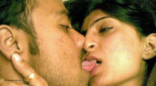 Horny Pakistani college couple kissing after hot sex session pics 6