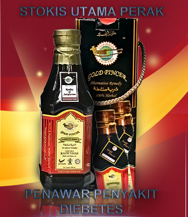 Kacip Emas @ Gold Pincer -  Stokis Utama Ipoh, Perak